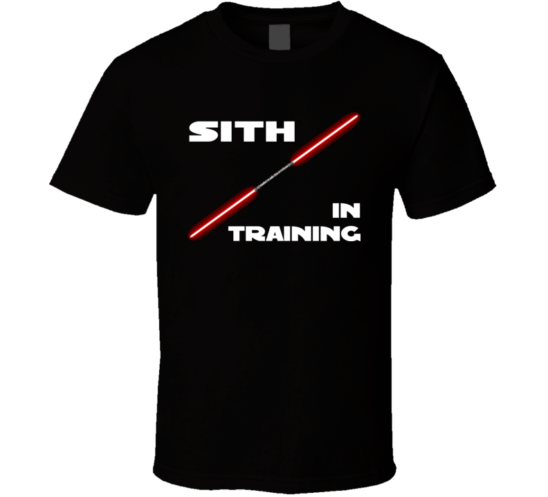 Star Wars Sith In Training T Shirt