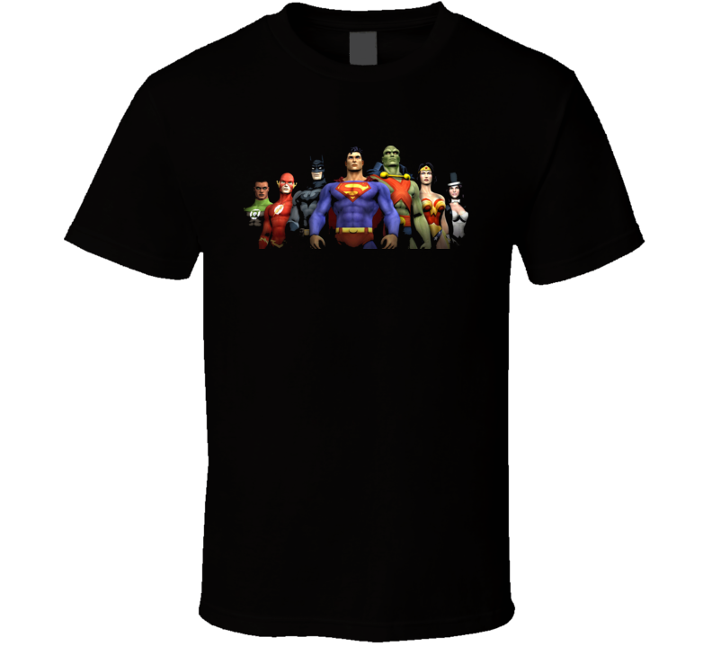 Jla Justice League Of America T Shirt