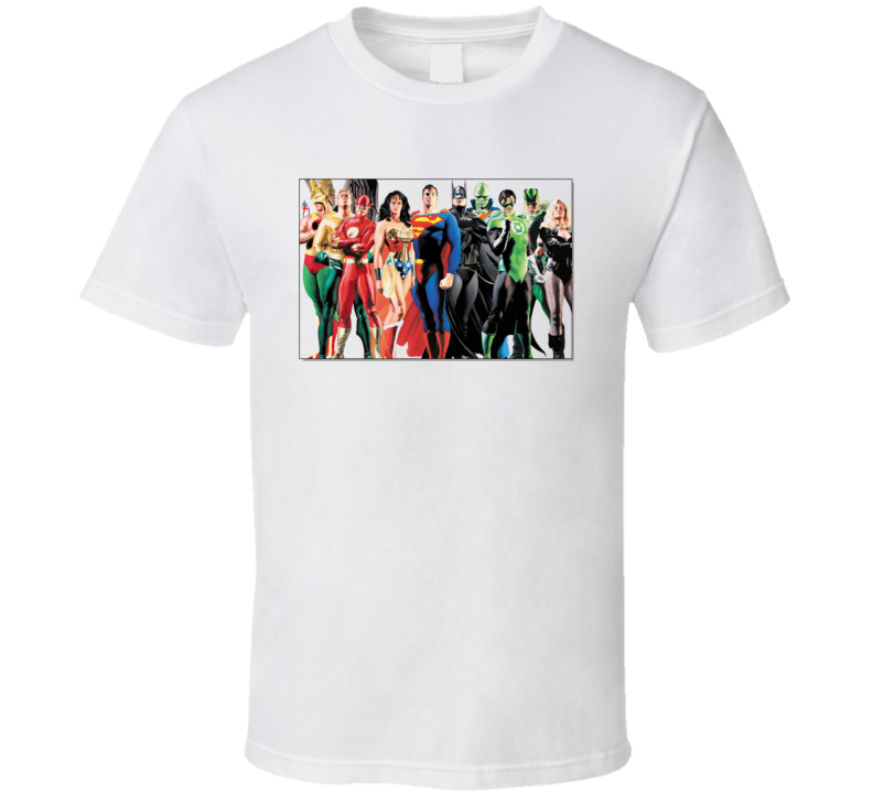 Jla Justice League T Shirt