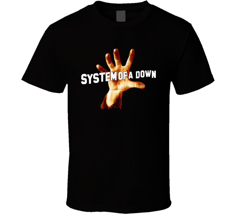 System Of A Down Heavy Metal Music T Shirt