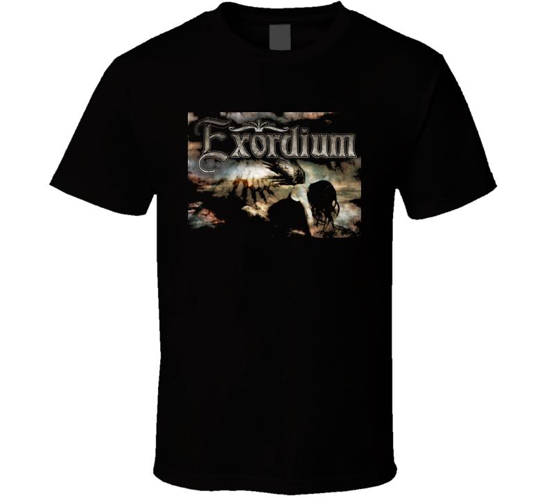 Exordium Heavy Metal Music T Shirt