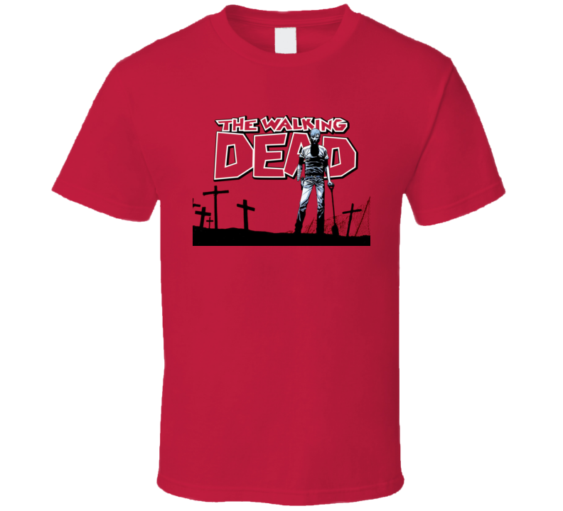 Walking Dead Zombie Comics T Shirt
