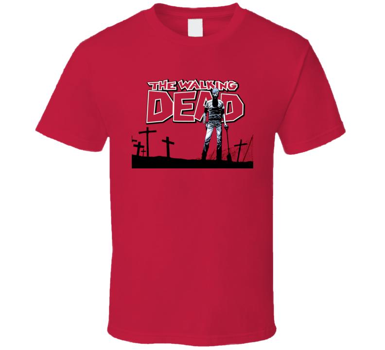 Walking Dead Zombie Comics T Shirt