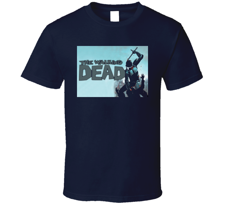 Walking Dead Comics Zombies Horror TV Show T Shirt