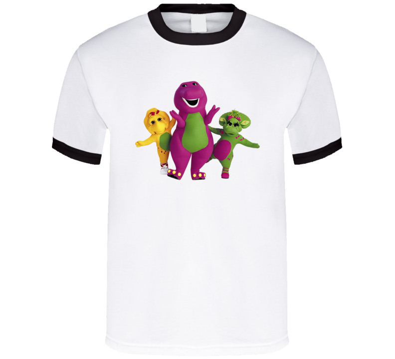 Barney And Friends Dinosaur Children's Tv Show T Shirt