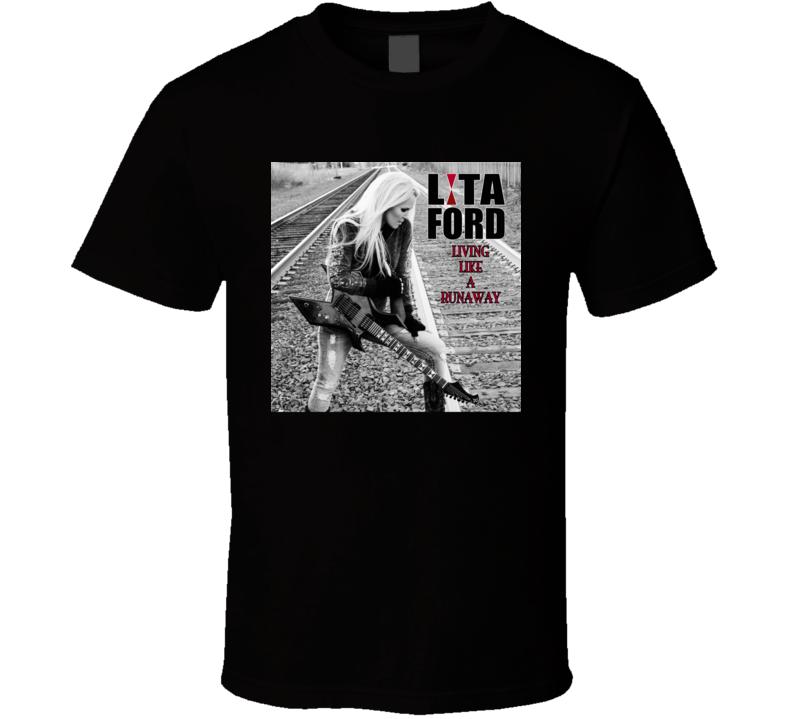 Lita Ford Rock Star Musician T Shirt