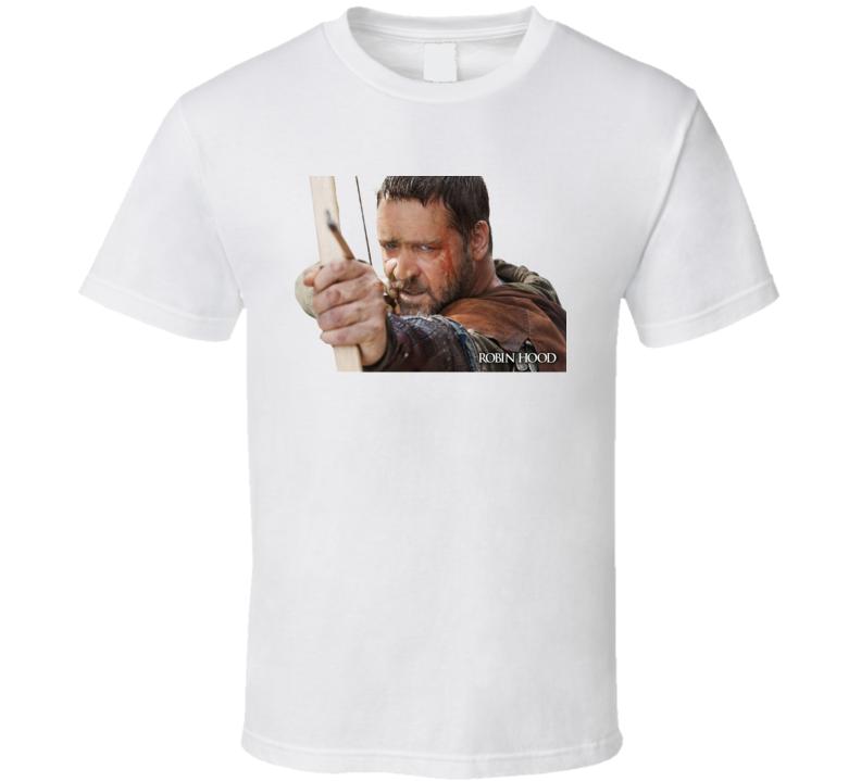 Robin Hood Movie Russell Crowe T Shirt