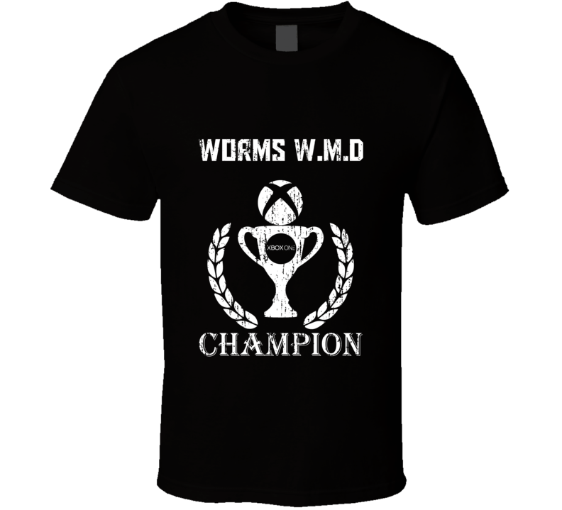 Champion Trophy Worms WMD Xbox One Video Game T Shirt