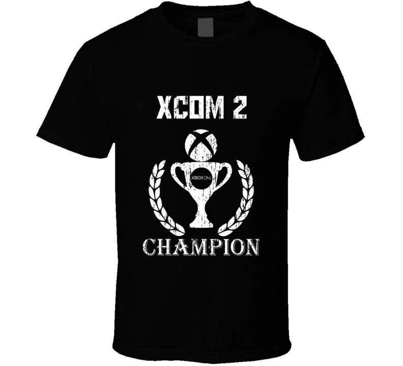 Champion Trophy XCOM 2 Xbox One Video Game T Shirt