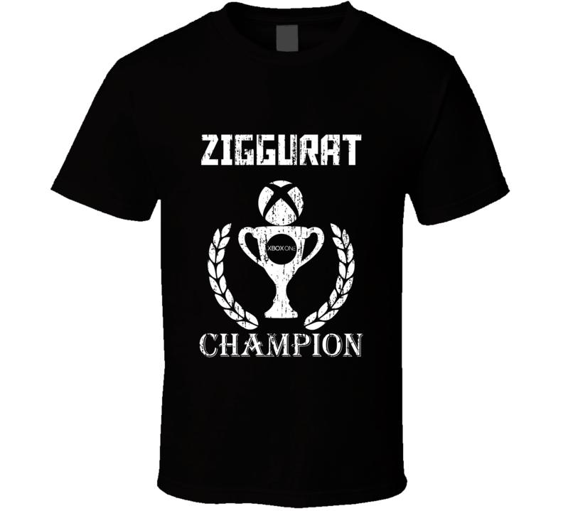 Champion Trophy Ziggurat Xbox One Video Game T Shirt