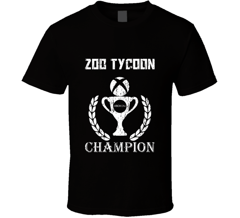 Champion Trophy Zoo Tycoon Xbox One Video Game T Shirt
