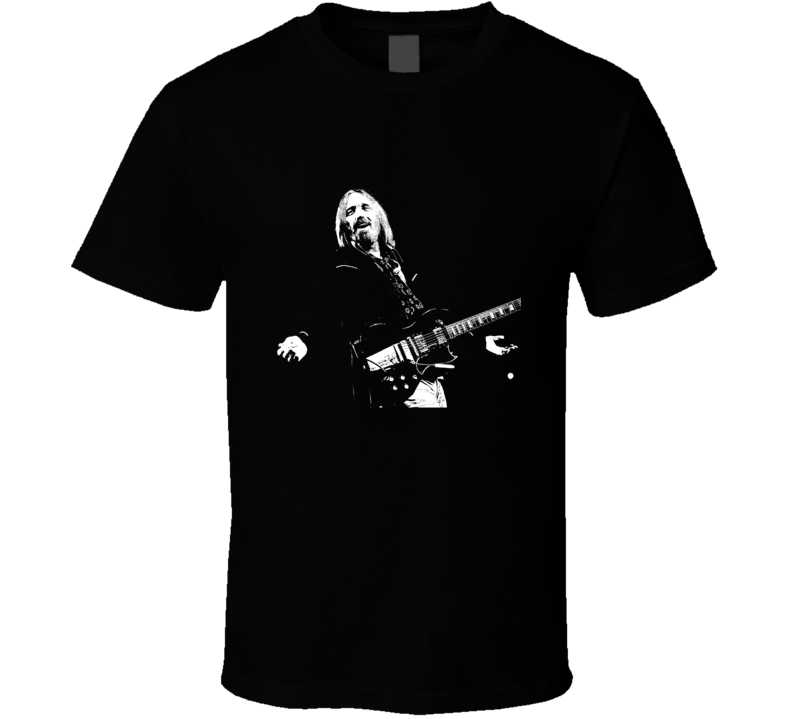 Tom Petty Heartbreakers Rock Music Singer Art T Shirt