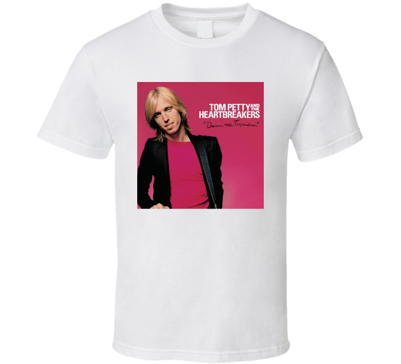 Tom Petty Heartbreakers Damn Torpedoes Album Rock T Shirt