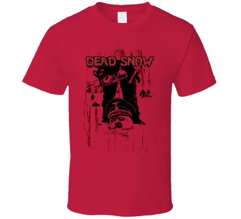 Dead Snow Zombie Horror Movie T Shirt