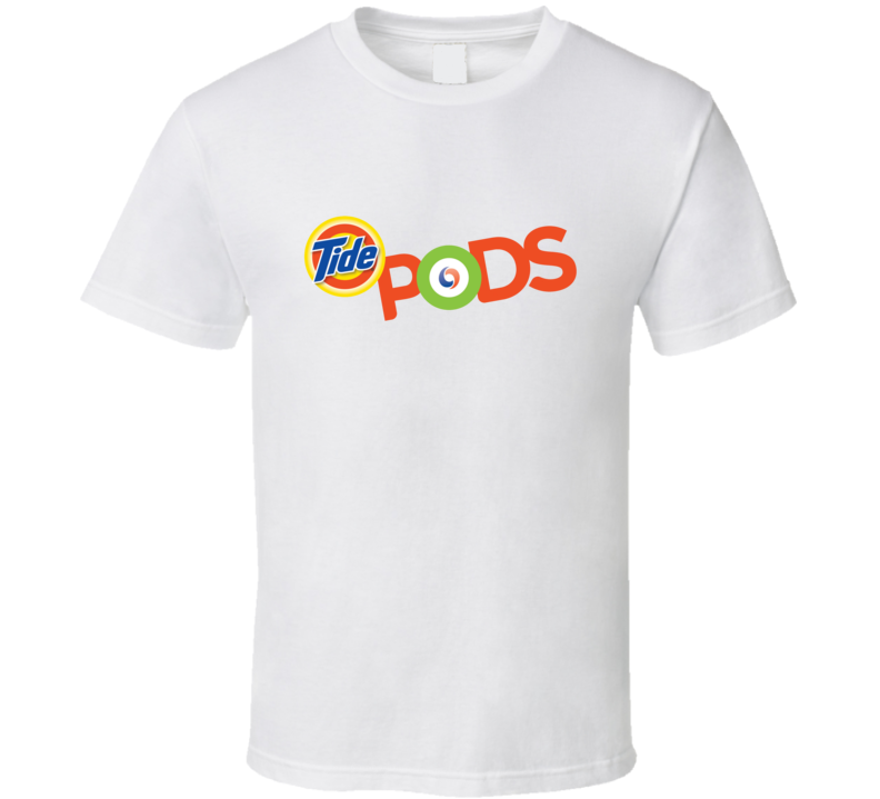 Tide Pods Logo Detergent Laundry News T Shirt