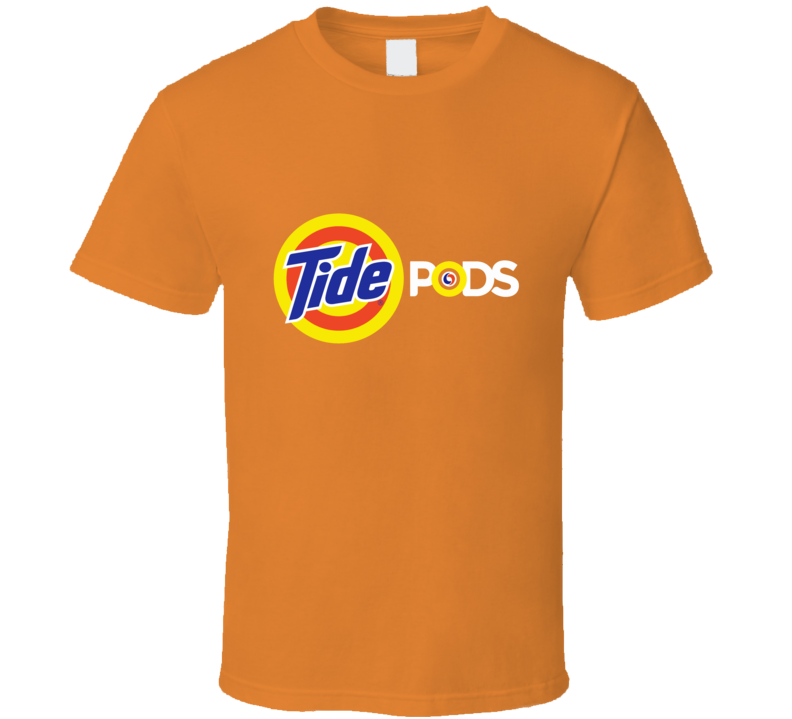 Tide Pods Logo Laundry Detergent News T Shirt