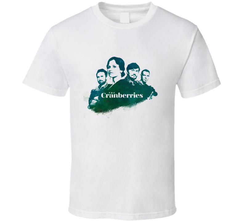 The Cranberries Pop Rock Band Music Irish Dolores Oriordan T Shirt