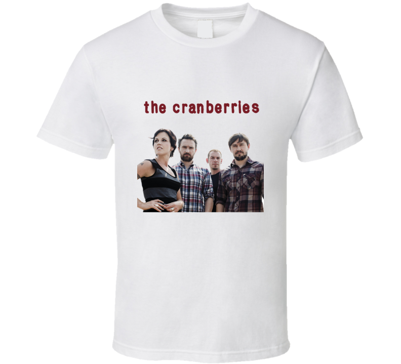 The Cranberries Irish Pop Rock Band Music Dolores Oriordan T Shirt