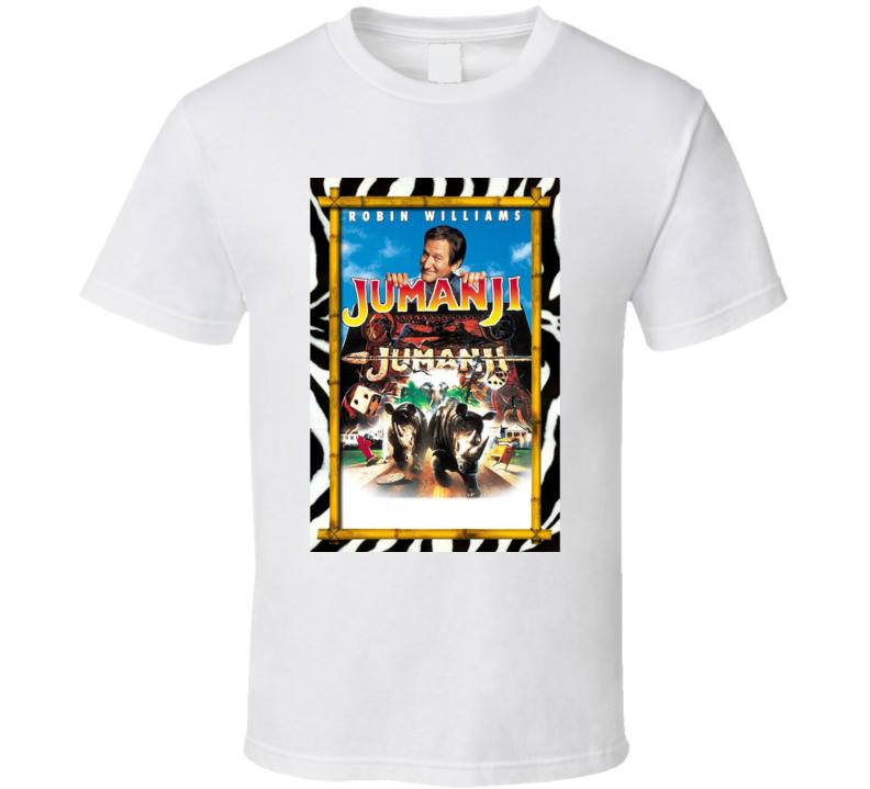Jumanji Cult Movie Poster Board Game Robin Williams T Shirt