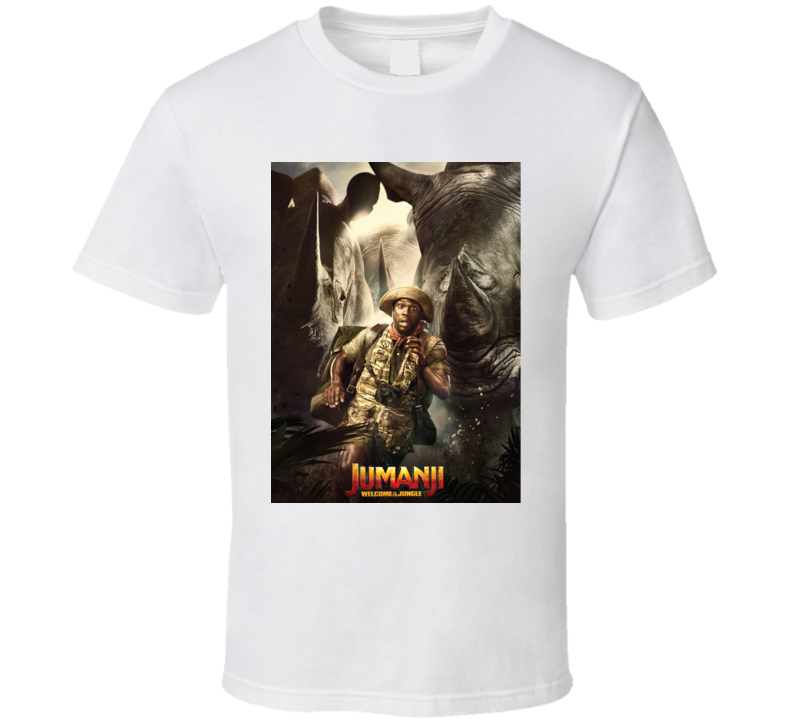 Jumanji Welcome To The Jungle Mouse Movie Poster T Shirt