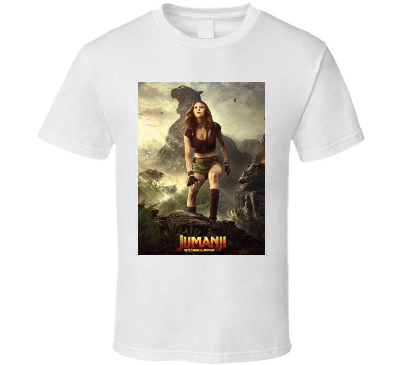 Jumanji Welcome To The Jungle Ruby Movie Poster T Shirt