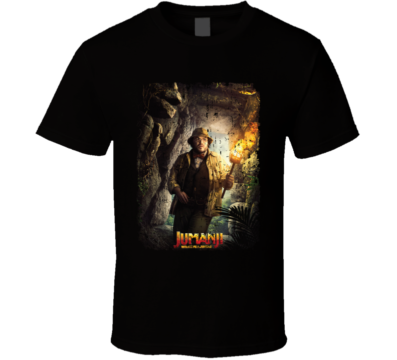 Jumanji Welcome To The Jungle Shelly Movie Poster Aged T Shirt