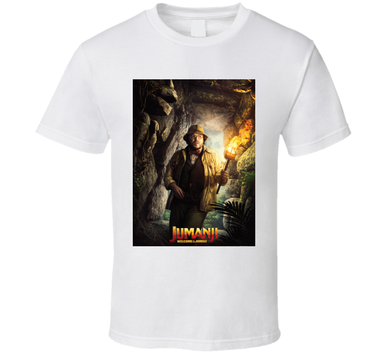 Jumanji Welcome To The Jungle Shelly Movie Poster T Shirt