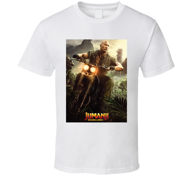 Jumanji Welcome To The Jungle Smolder Movie Poster T Shirt