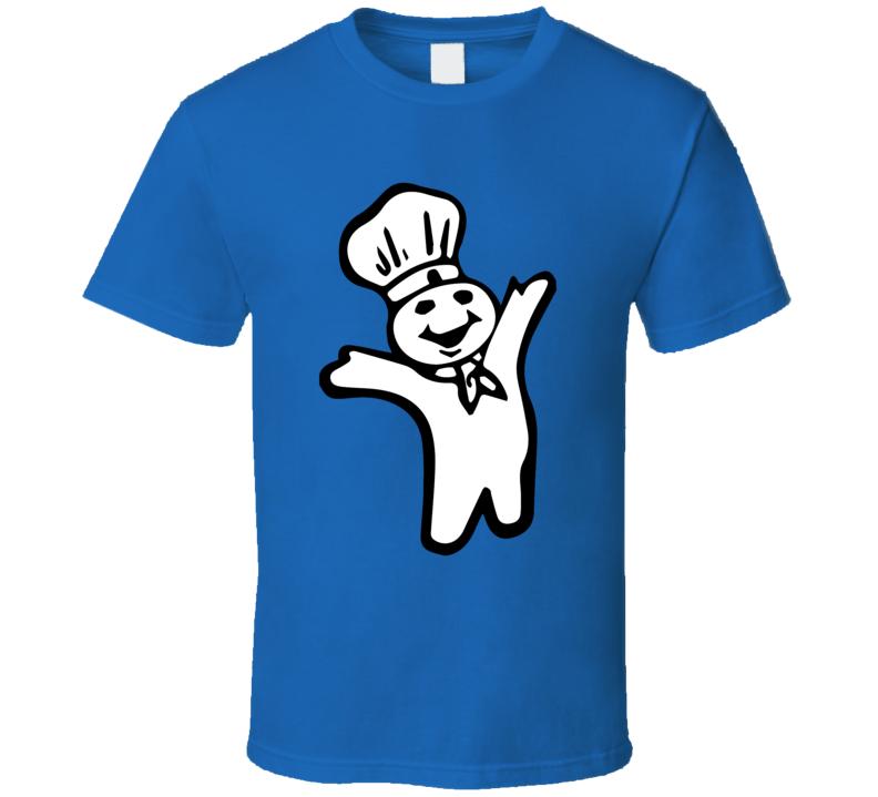 Pillsbury Doughboy Retro Figure Funny T Shirt