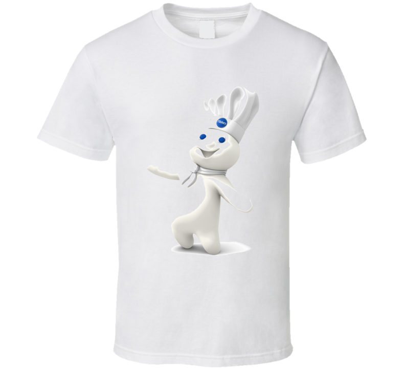 Pillsbury Doughboy Figure Funny T Shirt