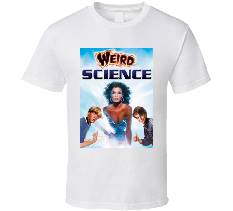 Weird Science Cult Movie Poster Kelly Lebrock T Shirt