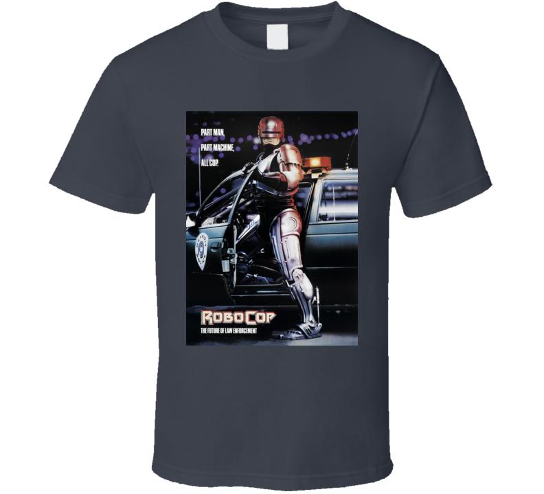 Robocop Cult Movie Poster T Shirt