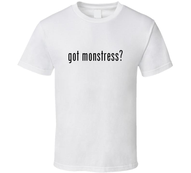 Monstress Comic Books Super Hero Villain Got Milk Parody T Shirt