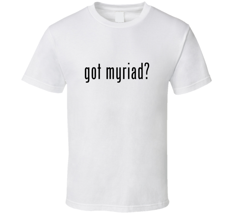 Myriad Comic Books Super Hero Villain Got Milk Parody T Shirt