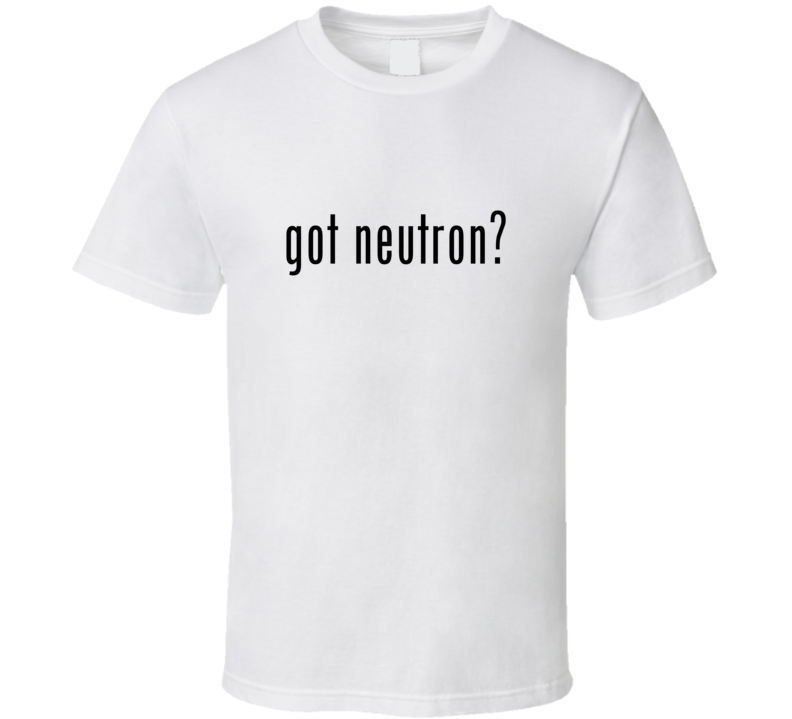 Neutron Comic Books Super Hero Villain Got Milk Parody T Shirt