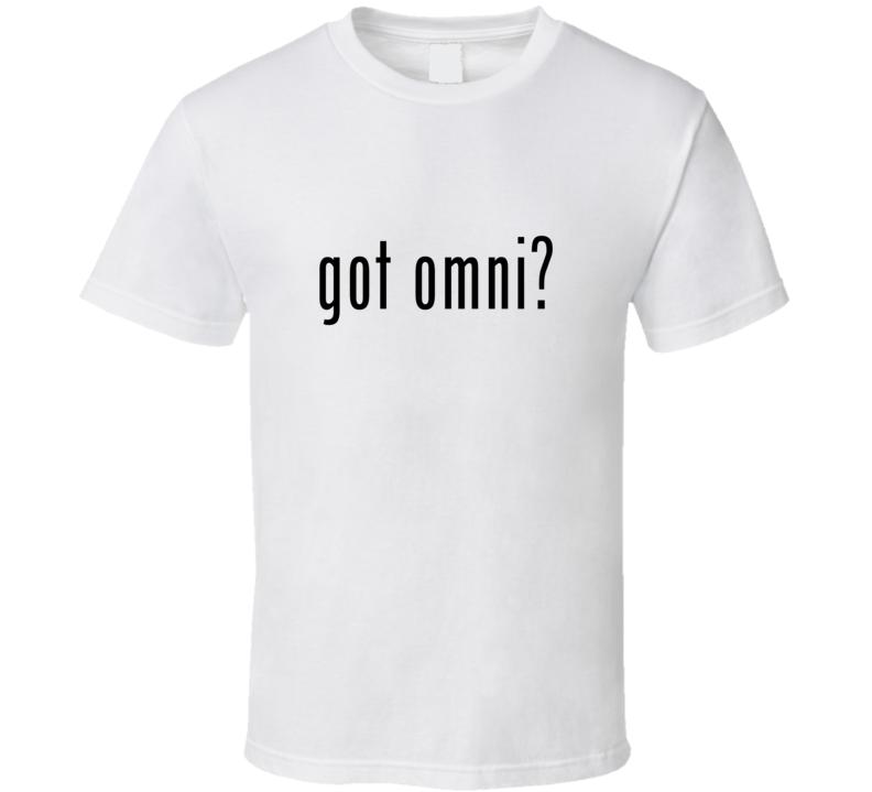 Omni Comic Books Super Hero Villain Got Milk Parody T Shirt