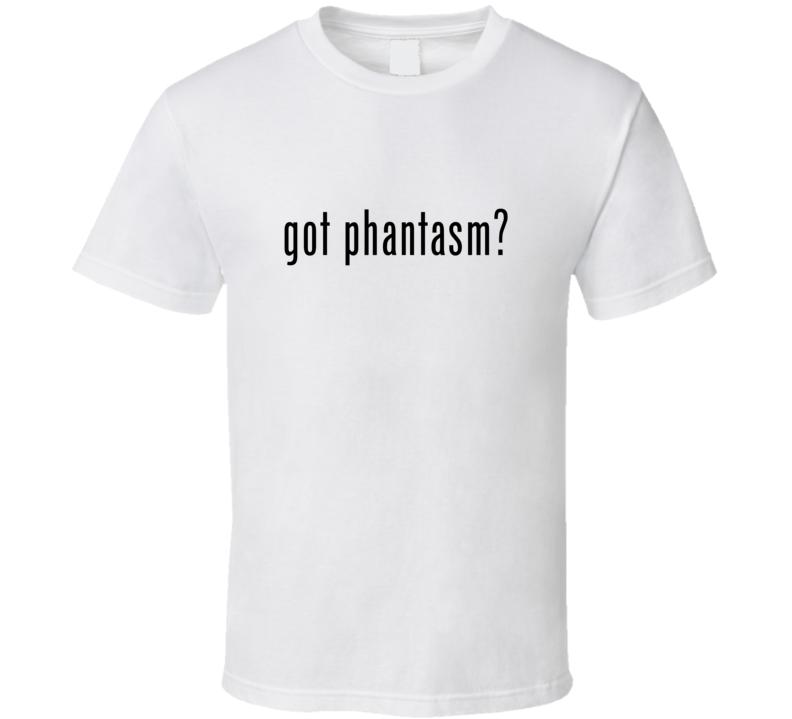 Phantasm Comic Books Super Hero Villain Got Milk Parody T Shirt