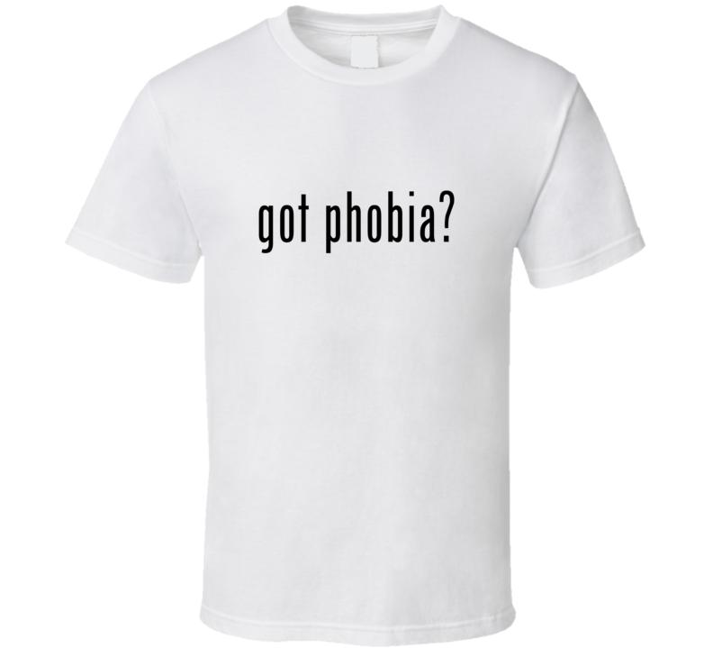 Phobia Comic Books Super Hero Villain Got Milk Parody T Shirt