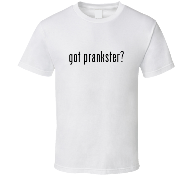 Prankster Comic Books Super Hero Villain Got Milk Parody T Shirt