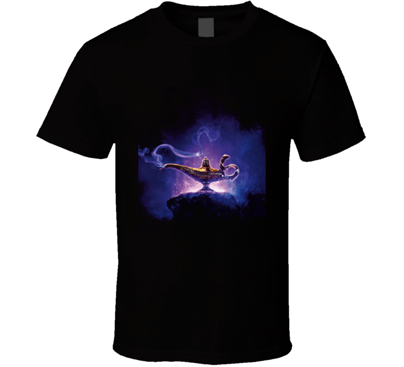Aladdin Movie Poster Jasmine Genie T Shirt