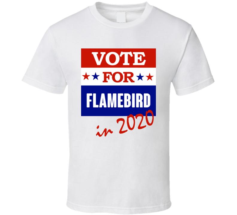 Flamebird Election 2020 Comics Super Hero Villain T Shirt