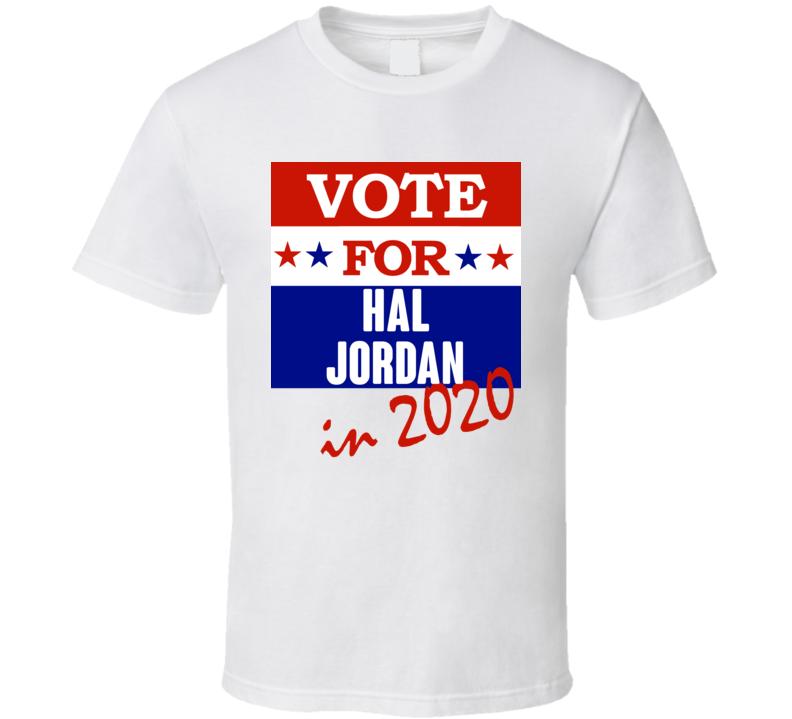 Hal Jordan Election 2020 Comics Super Hero Villain T Shirt