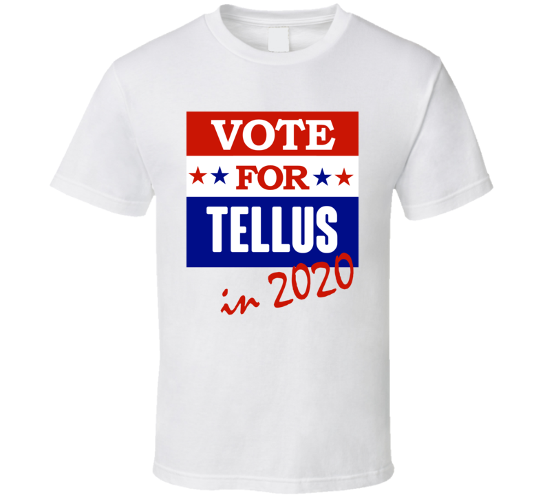 Tellus Election 2020 Comics Super Hero Villain T Shirt