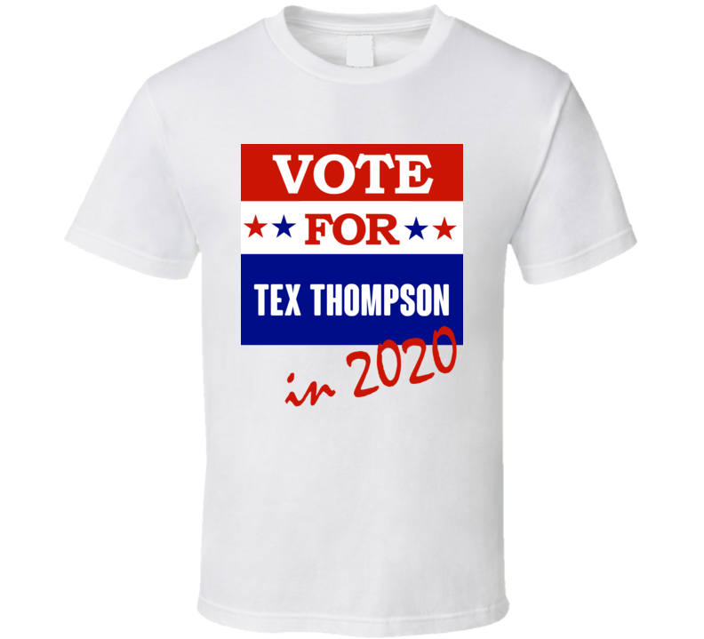 Tex Thompson Election 2020 Comics Super Hero Villain T Shirt