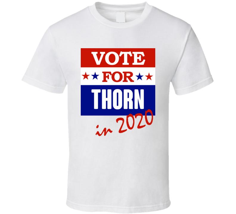 Thorn Election 2020 Comics Super Hero Villain T Shirt