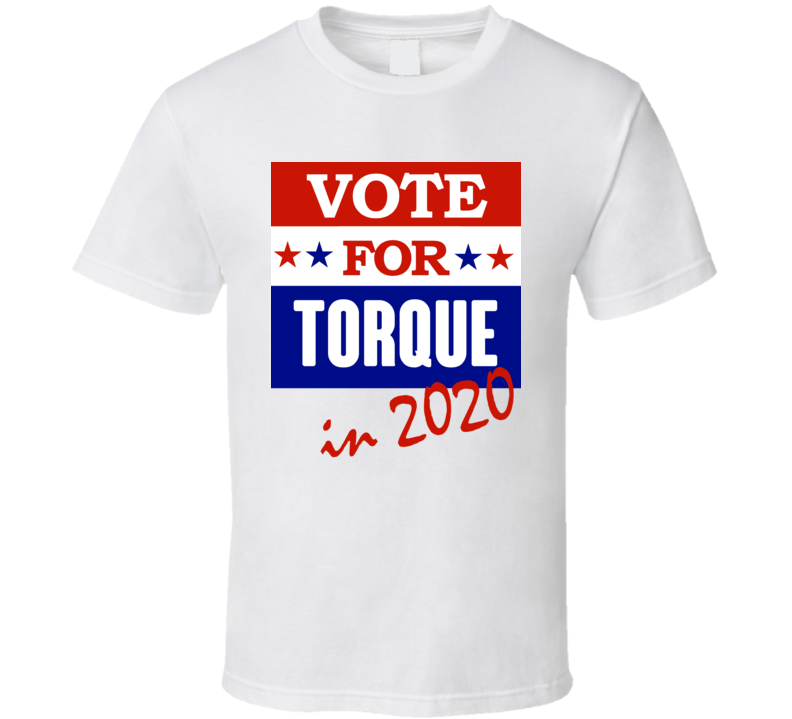 Torque Election 2020 Comics Super Hero Villain T Shirt