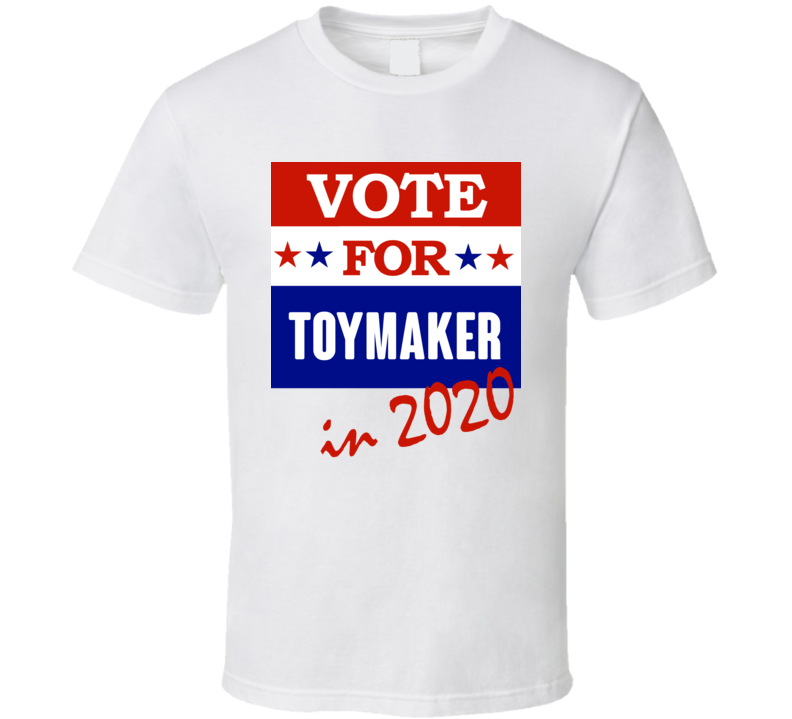 Toymaker Election 2020 Comics Super Hero Villain T Shirt