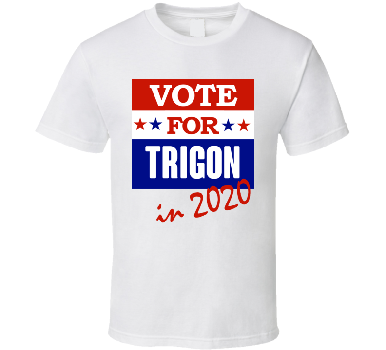 Trigon Election 2020 Comics Super Hero Villain T Shirt