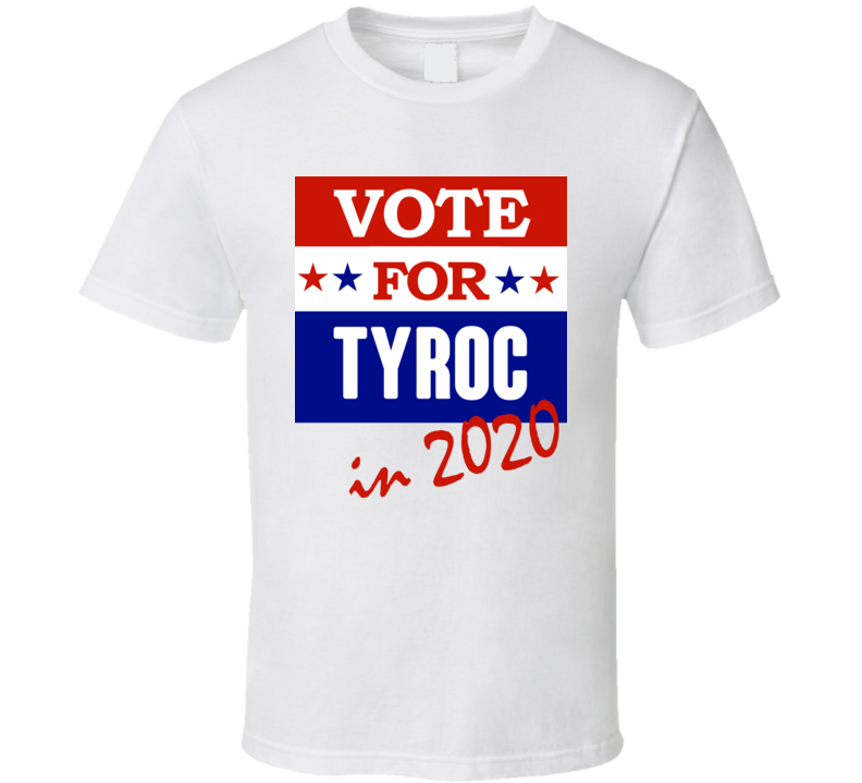 Tyroc Election 2020 Comics Super Hero Villain T Shirt