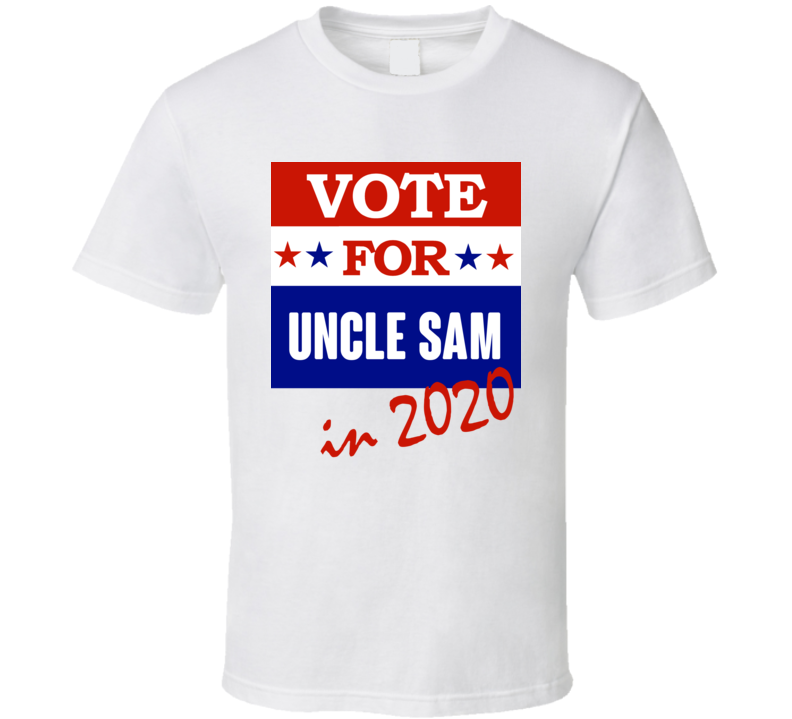 Uncle Sam Election 2020 Comics Super Hero Villain T Shirt